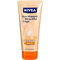 This gives a natural glow...I use it everywhere, not just legs. And it doesn't smell as awful as most self-tanners.
