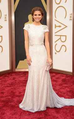 Just a Darling Life: Best Dressed: Academy Awards (aka THE OSCARS) 2014 - Maria Menounos in Joanna Johnson