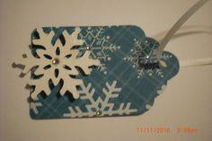 Cricut Christmas Tags | Ricketts Cricuts: Christmas Snowflake Tag