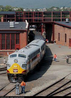 RailPictures.Net Photo: DLW 663 Delaware Lackawanna EMD F3(A) at Scranton, Pennsylvania by ajbarber
