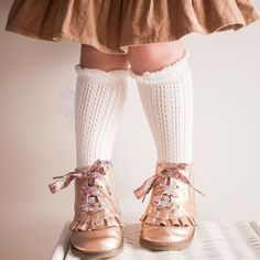 Our Rose Gold Alex boots we still have sizes left in 6, pair with below the knee socks & pollen Australia shoelaces #sadiebaby… Knee Socks, Baby Accessories, Sadie, Leg Warmers, Baby Shoes, Rose Gold, Australia, Pairs, Boots