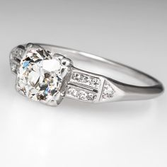 Antique 1930's Engagement Ring