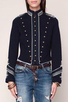163 meilleures images du tableau veste manteau inspiration marine ... af520da9626