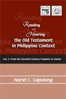 """Dr. Capulong makes the struggles of the struggles of the people of God in the Bible as if it were of a piece with the struggles of the Filipino people for justice, freedom, and humanity throughout their tortured history. This is a must-read for the serious practicing Christian in our dark and troubled times"" (Levi Oracion)."