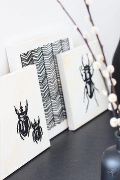 [ DIY ] Des toiles cousues façon cabinet de curiosité