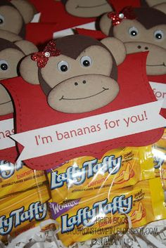LOVE this monkey!  For any occasion.