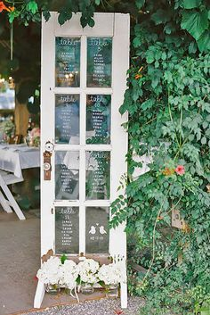 24 Fabulous Rustic Old Door Wedding Decoration Ideas ❤ See more: http://www.weddingforward.com/old-door-wedding-decoration-ideas/ #weddings #decorations