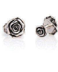 Sheeva Rose Cufflinks silver - Lyst