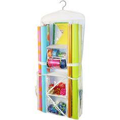 Jokari Gift Wrap Hanging Organizer