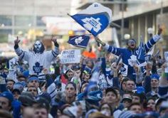 This pin is about association, Which can be defined as a group of individuals that organize themselves into a group for the purpose of common interests. Leafs fans are an amazing example of association. Leafs fans come from all across Canada and unite over one common interest. The fans of the Toronto Maple Leafs work together to give as much support as possible as one big group.