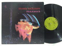 Black Sabbath - Paranoid - 1971 Green WB 1887 LP #Vinyl Record