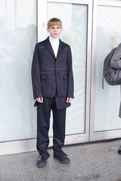 Jil Sander Fall 2018 Menswear Fashion Show Collection