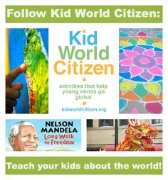 KidWorldCitizen.org helps parents and teachers teach their kids about the world: global and cultural awareness through books, crafts, activities, travel, food, and more. Go Global!