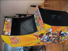 Scratch Build Custom Street Fighter Arcade Cabinet (upd.7-Jul-09 SF IV READY)