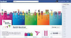 Reckit Benckiser is one of the quick candidates to get the timeline. The cover is nice, as colourful and loud as the product line...it fits.
