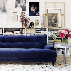 TRIWA INSPO - The luxurious velvet couch Blanca from @melimelihome.se