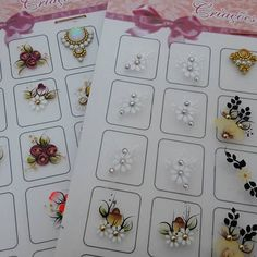 Cartelões artesanais com jóias Criações Vilela enviamos para todo o Brasil informações no Whatsapp 43 99869 6424