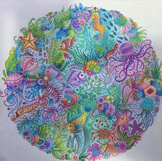 Inspirational Coloring Pages by Giovana Laterza #inspiração #coloringbooks #livrosdecolorir #jardimsecreto #secretgarden #florestaencantada #enchantedforest #reinoanimal #animalkingdom #adultcoloring #johannabasford #lostocean #oceanoperdido