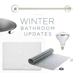Turn your bathroom into a cozy retreat and keep yourself warm this winter with these five tips from Seachrome. Bathroom Updates, Bathroom Hacks, Cozy, Warm, Fit, Winter, Blog, Winter Time, Blogging