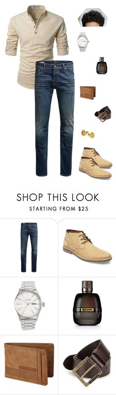 """""""Casual Days ~Ariese"""" by carlisafights ❤ liked on Polyvore featuring Jack & Jones, Steve Madden, Nixon, Missoni, Billabong, Diesel, men's fashion and menswear"""