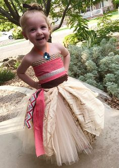 Moana Dress moana tutu dress halloween costume Moana