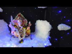 Ganpati Decoration Theme, Gauri Decoration, How To Make Clouds, Cloud Decoration, Home Themes, Romantic Dinners, Art Decor, Home Decor, Dried Flowers