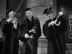 "The Three Stooges: Moe larry curly  ""Swinging the Alphabet"""