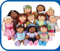 Cabbage Patch Kids get fashionable!   I loved my Cabbage Patch Kids...and I hope my daughter does too.