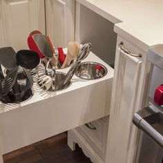 storage idea for kitchen tools