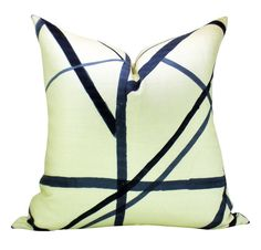 Kelly Wearstler Channels pillow cover in Periwinkle by sparkmodern, $125.00, easy.com --- nice but not for that amount