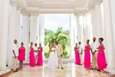 Wedding Party At The Grand Palladium Spa Jamaica