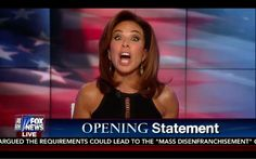 Hillary Insulted Me! Hillary is Arrogant Pathological Liar! Judge Jeanine Opening Statement 9/10/16 - YouTube