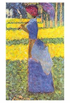"Artdash® Decorative Fine Art Reproduction ~ ""Woman with Parasol"" by Georges Seurat ArtDash® http://www.amazon.com/dp/B00TYM7Q4S/ref=cm_sw_r_pi_dp_aUn7ub1FS1S7K"