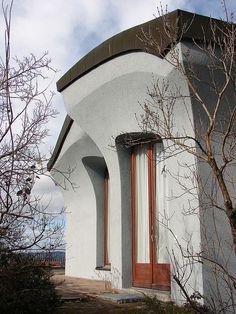 Anthroposophic architecture - Photos taken in the neighbourhood of the Goetheanum in Dornach, Switzerland