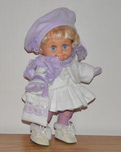 Lavender Winter Skirt Set.