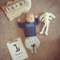 #maandfoto #baby #month #photos