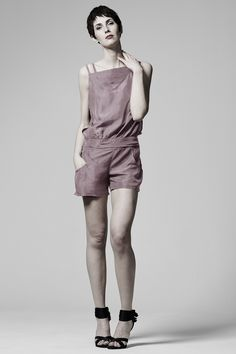 84ee29ac45c6 Florence playsuit by Ralph Pink - Sewing pattern. Featuring 1920 s  detailing
