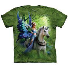 The Mountain REALM OF ENCHANTMENT Fairy T-Shirt Unicorn Dragon Fantasy S-5XL NEW #fairy #unicorn #fantasyart