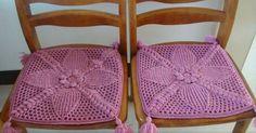 Crochet Squares, Crochet Motif, Crochet Doilies, Knit Crochet, Crochet Tablecloth, Crochet Curtains, Crochet Cushions, Crochet Home, Irish Crochet