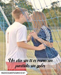 imágenes de fútbol con frases de amor para dedicar a un hombre