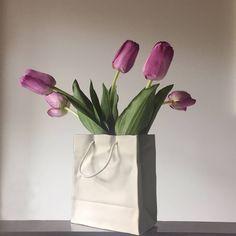 5th Ave Ceramic Gift Bag Vase