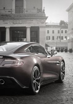 The Aston Martin ---- A Glamorous Car