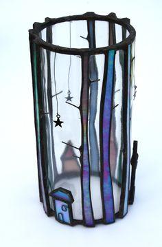 Tall Trees - Glass Art