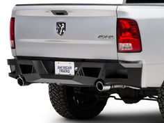 Barricade RAM Extreme HD Rear Bumper - Textured Black R102617 (09-18 RAM 1500)