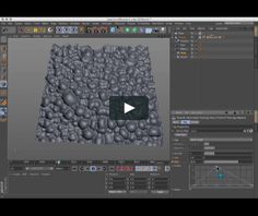 Reaction diffusion in Cinema 4d on Vimeo
