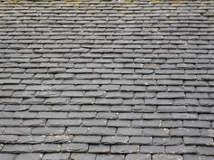 I like these roof tiles and the rough edge texture