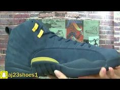 "41c5682609cfe3 Authentic The PSNY x Air Jordan 12 ""Michigan"" PE Review From aj23shoes net"