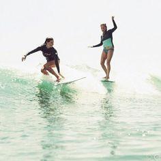 Lady sliders #surfing//sunkissedsisters