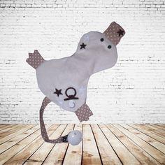 JuniStrand Knistertuch Schnullertuch Iffy von me Kinderkleidung und ersatzbezuege auf DaWanda.com