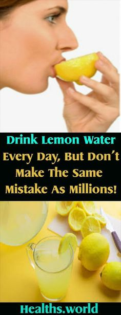 Drink Lemon Water Every Day, But Don't Make The Same Mistake As Millions! – Healths World